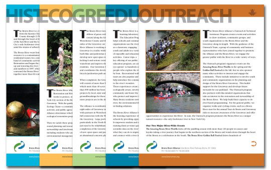 #DESIGN: Bronx River Alliance – Program Fact Sheets