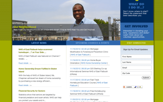 #WEBSITE: Neighborhood Housing Services of New York City Website Launched