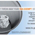 IRS Tax Exempt Banner